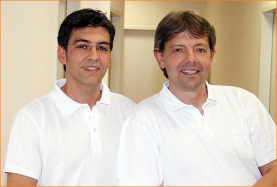 Dr. Horst Jülicher und Manfred Grothus